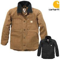 Carhartt Chaqueta de Hombre Lleno Swing Tarea Coat Abrigo Parka Workwear Trabajo