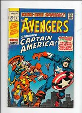 The Avengers King-Size Special #3 Marvel Comics (1969)