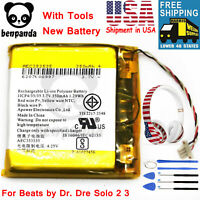 New 350mAh AEC353535 Replacement Battery For Beats by Dr. Dre Solo 2 3 Wireless