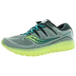 Saucony Mens Triumph ISO 5 Green Running Shoes Sneakers 9.5 Medium (D) BHFO 6943