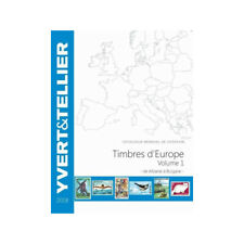 Catalogue de cotation Yvert timbres d'Europe Albanie à Bulgarie.