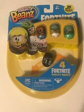 NEW Mighty Beanz Fortnite - 4 Pack Sealed (Style B)