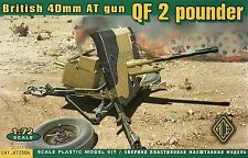 Ace 1/72 (20mm) 2 Pounder anti Tanque pistola