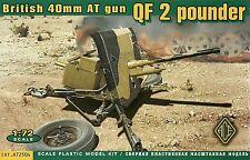 Ace 1/72 (20mm) 2 Pounder Anti Tank Gun