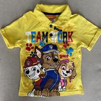 Toddler Boys Nickelodeon Paw Patrol Polo Shirt Yellow 4T