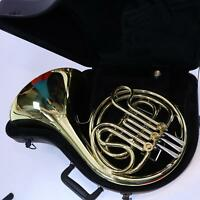 C.G. Conn Model 14D Single French Horn In F DISPLAY MODEL