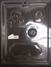 Halloween Ghost RIP Centerpiece Chocolate Plastic Candy Mold LOP H-93
