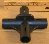 NEW Replacement 4 Way Hub For Tents, 19 mm Steel, 90 x 90 Degree, TPM 210-1