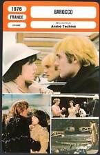 BAROCCO - Adjani,Depardieu,Pisier,Téchiné (Fiche Cinéma) 1976