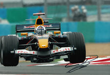 David Coulthard mano firmato RED BULL RACING FOTO 12X8 5.