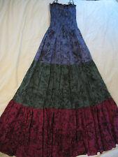 Betsey Johnson 'Garden Toile' Tiered Maxi Dress - Sz S - Gorgeous & Rare NWT