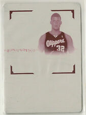 Blake Griffin 2009-10 National Treasures Patch RC Auto RPA Printing Plate #d 1/1