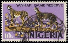 "NIGERIA 297bi (SG344i) - Yankari Game Reserve Cheetahs ""Lilac"" (pa88868)"