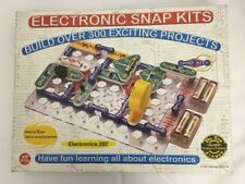 Elenco Electronic Snap Kits Science Toy Electroincs 202 Build Over 300 Projects
