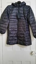 Wantdo Women's Lengthed Hooded Packable Ultra Light Weight Down Coat (Size L)