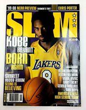 KOBE BRYANT COVER JANUARY 2000 SLAM MAGAZINE NO. 39  W/ POSTER - NO COVER LABEL