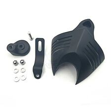 Black Horn Cover Fit For Harley Big Twins V-Rods Stock Cowbell Horns 1992-2013