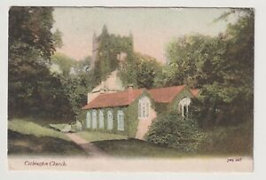 Devon Postkarte - Cockington Kirche, Torquay (A3674)