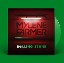 "Mylène Farmer 12"" Rolling Stone - Limited Edition, Green Translucent - France"
