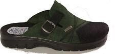FLYFLOT Hausschuhe Pantoffeln Filz Textil Loden schwarz grün  NEU