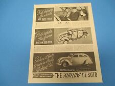 1934 See how it feels to ride in a truly Modern Car, The Airflow De Soto, PA003