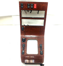 1998 Mercedes w140 s320 console wood trim  master power window switches ashtray