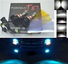 LED Kit X3 50W H9 8000K Icy Blue Two Bulbs Head Light High Beam Upgrade Lamp Fit