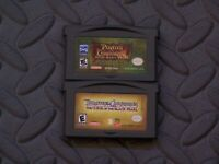 Lot Nintendo Game Boy Advance GBA Games Pirates Dead Man's Chest + Curse of