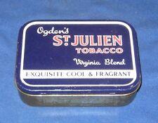 Vintage Ogden's St. Julien Tobacco Tin
