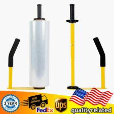 Adjust Pallet Stretch Film Packing Machine Metal Shrink Wrap Dispenser Holder Us