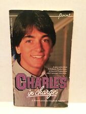 Charles in Charge by Elizabeth Faucher 1984 Scott Baio Point Scholastic