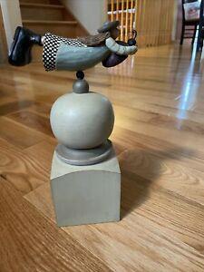 """Williraye Studio WW1515 """"Garden Finial - Ladybug"""" Collectible- PreOwned"""