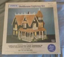 Elect-A-Lite Dollhouse Lighting Kit E-142 Tiffany Lamp Train 42 Bulbs 12 Volt RR