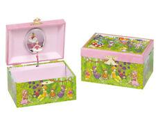 Schmuckkästchen ELFE mit Spieluhr Spieldose Spielwerk