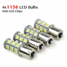 4PCS SMD LED 1156 1141 1003 RV Camper Trailer Interior Light Bulbs 6000K White