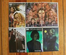 Orphan Black IDW 1D, 2-3 Connecting Cover, 4-5 SUB Photo + Helena #1 RI Variant