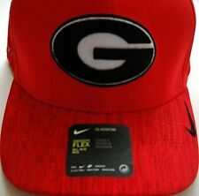 4126edbcf4e Georgia UGA Bulldogs Adult Medium-large 1fit Flex Dri-fit Nike Cap Hat W