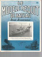 """MODELE REDUIT DE BATEAU N°73 CONSTRUCTION EN TRANCHE """"VIKING"""" + PLAN /ANADYOMENE"""