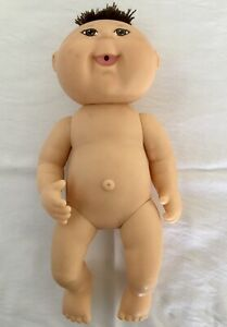 2007 Cabbage Patch Kids CPK 25th Anniversary Feed & Wet Vinyl Body Doll #PA-5NF