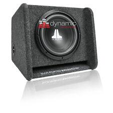 "JL AUDIO CP110-W0v3 Sub 10"" Box 10W0v3 Loaded Ported Enclosure w/ Gray Carpet"
