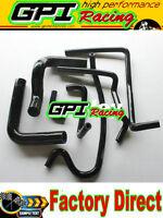 silicone heater radiator hose for HOLDEN VN VP VR VS V8 5.0L SS 304 black*
