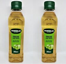 White Wine Vinegar Peninsular 250ml - 8.45fl.oz PET Bottle - Pack of 2