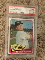 1965 TOPPS #350 MICKEY MANTLE - PSA 6 EX-MT - GREAT CARD!