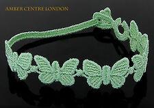 Genuine Italian Made Cruciani Bracelet- BUTTERFLY-LIBERTA-FREEDOM-Mint Green