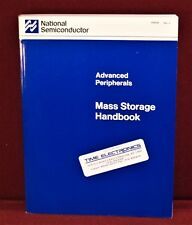 1988 National Semiconductor Advanced Peripherals ~ Mass Storage Handbook, Fdcs
