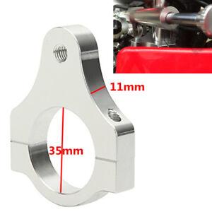 35mm CNC Aluminum Motorcycle Shock Steering Damper Fork Mounting Clamp Bracket