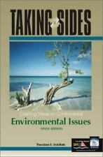 Taking Sides Ser.: Clashing Views on Controversial Environmental Issues by Theod