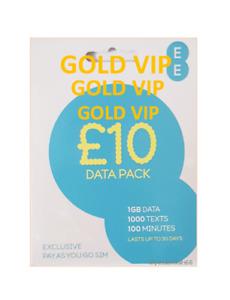 EE Network Trio Sim Card Easy Number Platinum Gold Vip Memorable 079 44 00 66 17