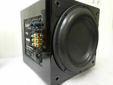 "Sunfire XTEQ 10"" Inch Powered 2700 Watt Subwoofer Box Gloss Black XTEQ10"