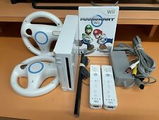 Nintendo Wii Console And Mario Kart Bundle - Tested And Factory Reset